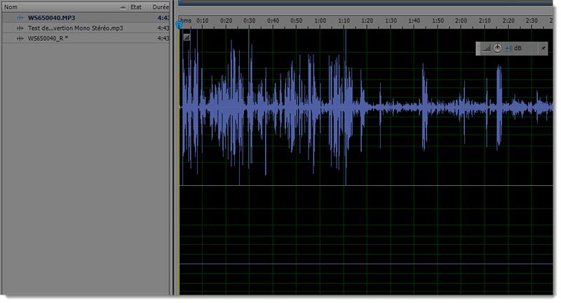 comment convertir un fichier son mono en st u00e9r u00e9o avec adobe audition