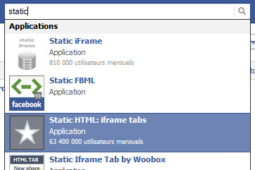 Static-Iframe