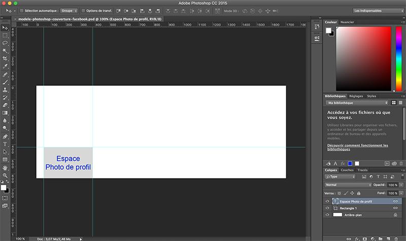 Modèle Photoshop Pour Couverture Facebook