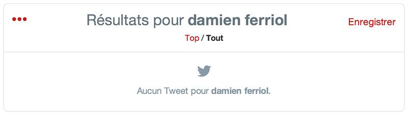 Damien Ferriol Twitter