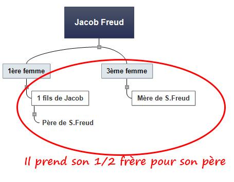 Famille de Freud selon Freud