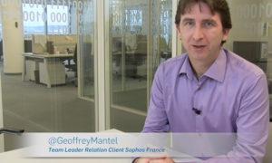Sophos France Geoffrey Mantel Relation Client