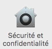 Séecurité et confidentialité MacOS