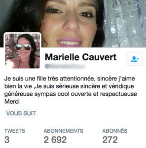 faux compte twitter