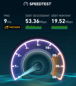 SFR Fibre Speed Test