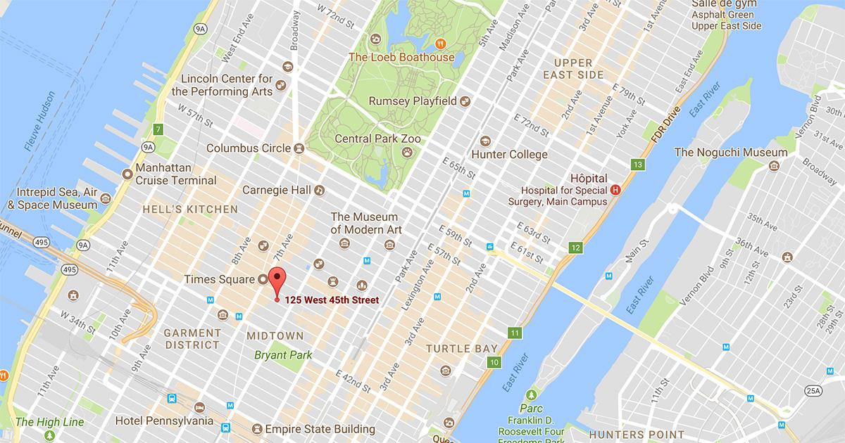 A New York Manhattan