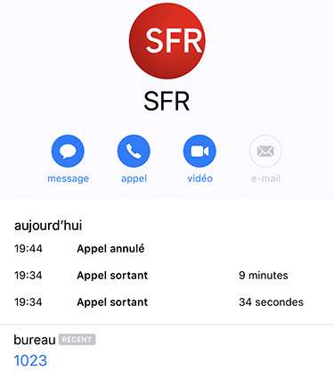 SFR 1023 inaccessible