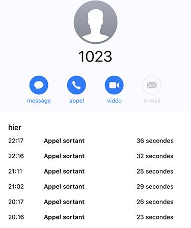 SFR 1023 indisponible