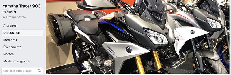 Groupe Facebook Yamaha Tracer 900 France