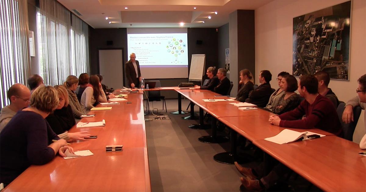 Conférence cybersécurité intra-entreprise