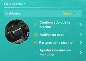 Application de la sonde iopool
